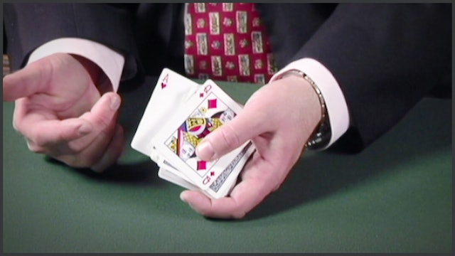 Controlling the Top and Bottom Card