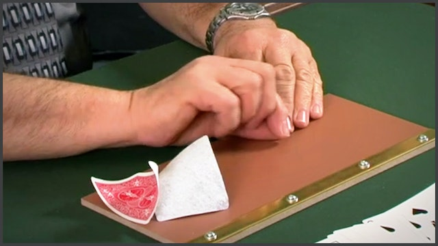 Splitting a Card