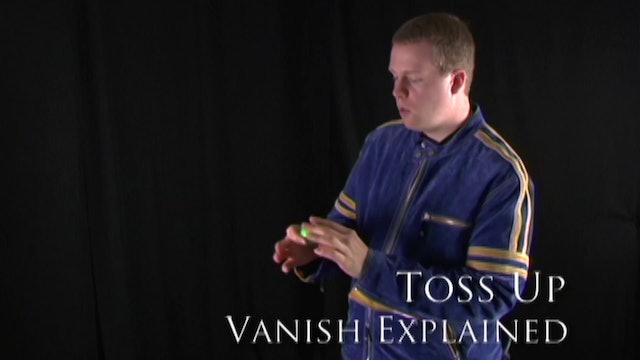Toss Up Vanish