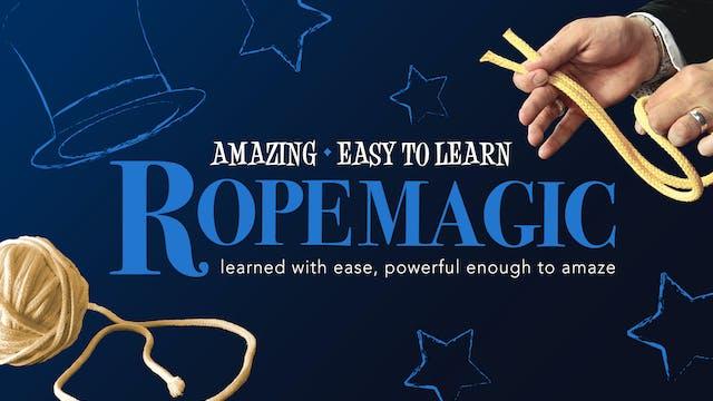 Amazing Series: Rope Magic Instant Download