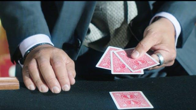 Ultimate 4  Card Trick by George Bradley