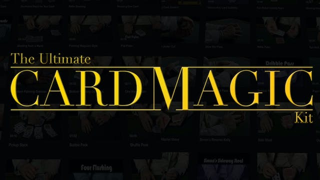 The Ultimate Card Magic Kit - Instant Download