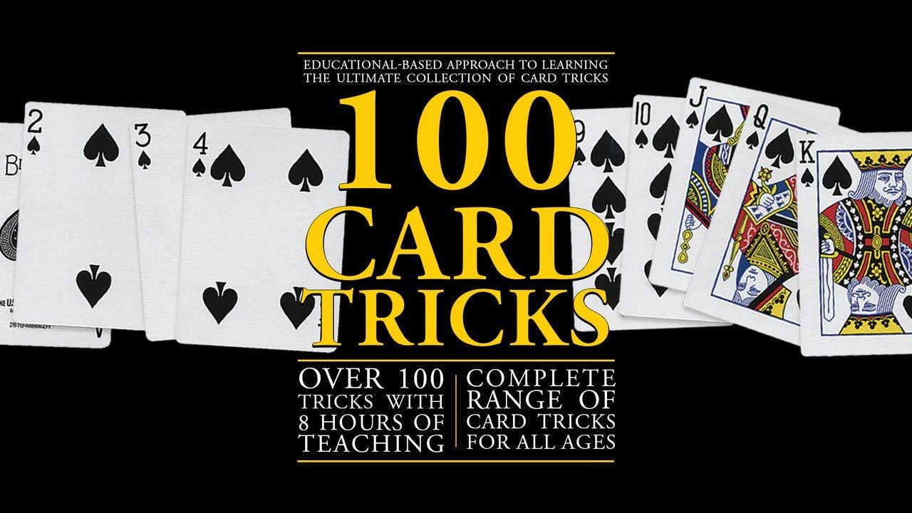 100 Card Tricks - Instant Download
