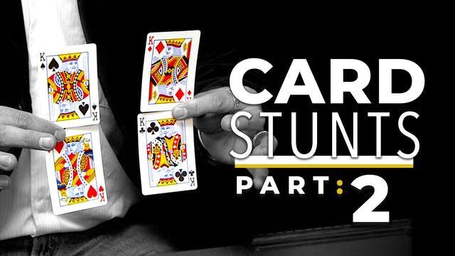 Card Stunts: Part 2 Instant Download