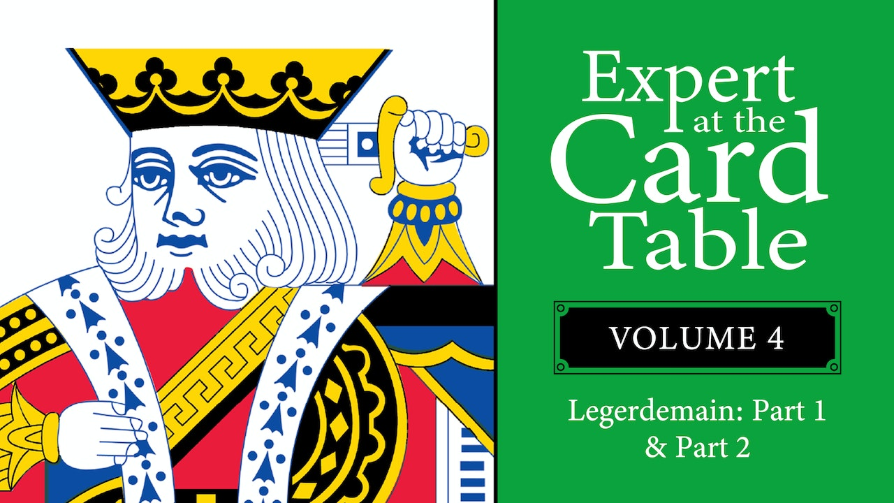 Expert at the Card Table: Volume 4