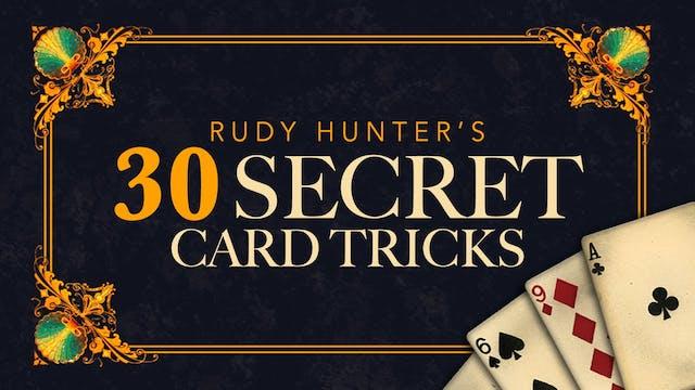 30 Secret Card Tricks - Instant Download