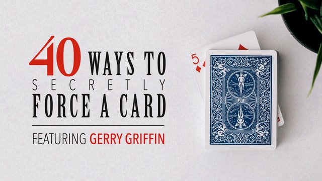 40 Ways To Force A Card