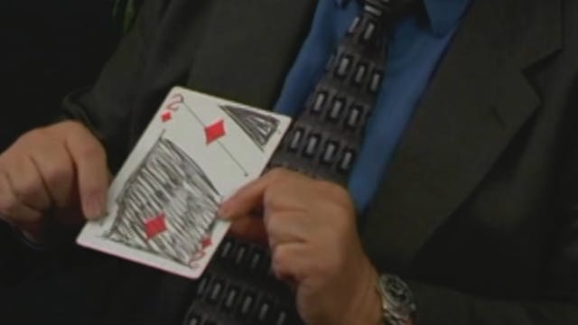 The Floating Card
