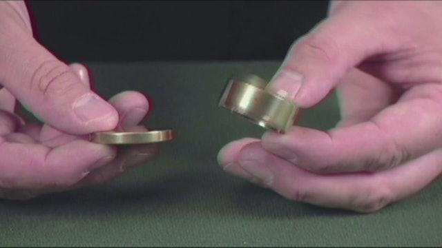 George Boston Combination Coin Box