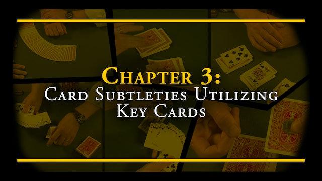 Chapter 3 - Card Subtleties Utilizing Key Cards