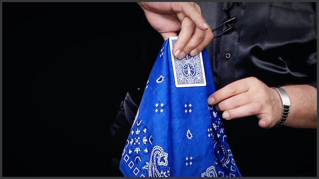 The Card and Handkerchief Explained