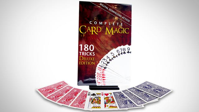 Complete Card Magic 180 Card Effects Now