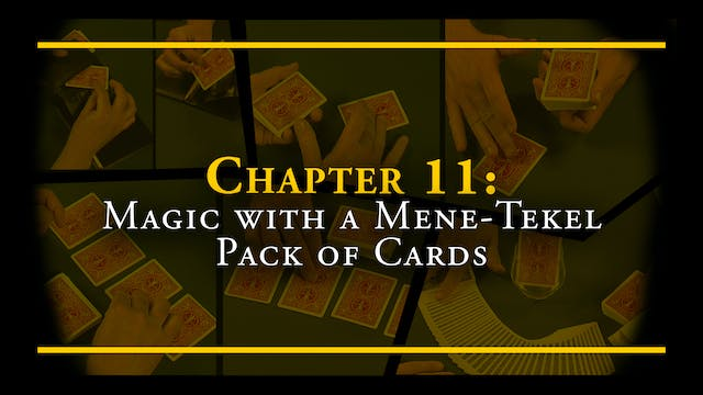 Encyc. Chapter 11: Magic with a Mene-Tekel Pack of Cards Full Volume Download