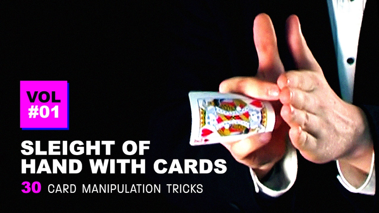 Sleight of Hand with Cards: Volume 1