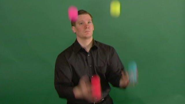 4 Ball Columns in Sync
