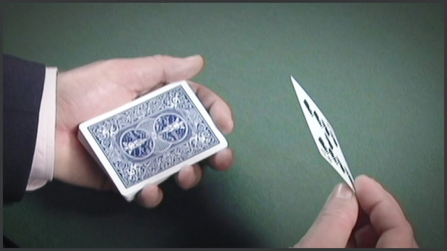 Top Change Byplay & Card to Pocket