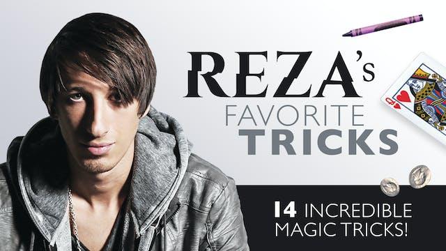 Reza Favorite Card Tricks: 14 Magic Effects