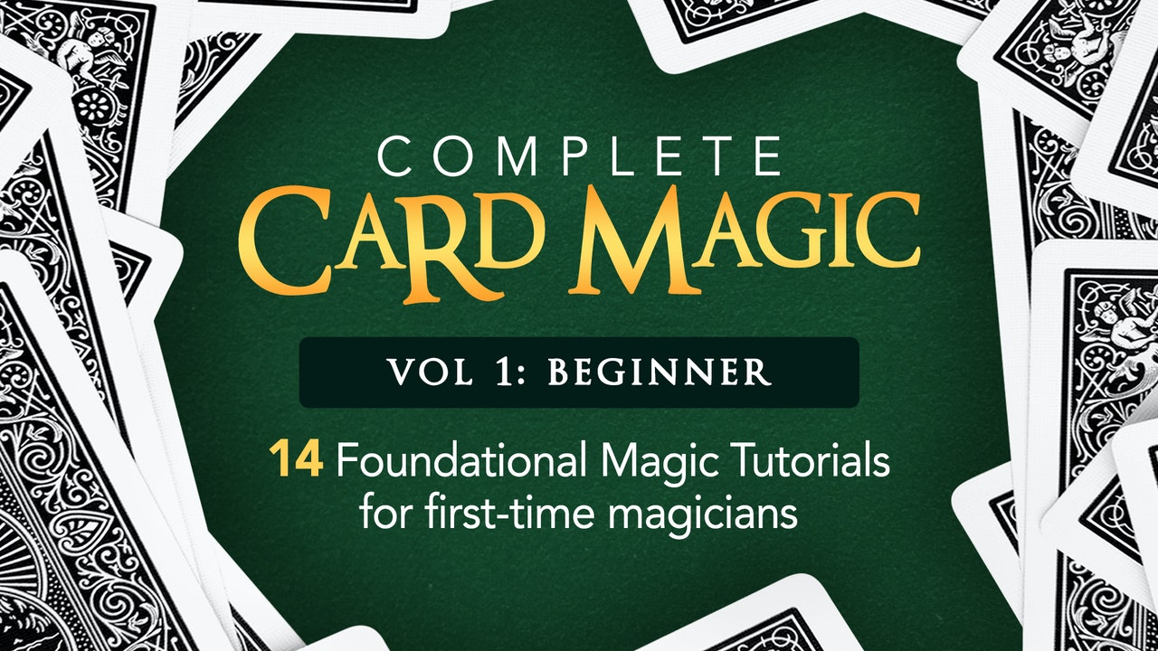 Complete Card Magic Volume 1