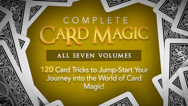 Complete Card Magic 120 Card Effects Now