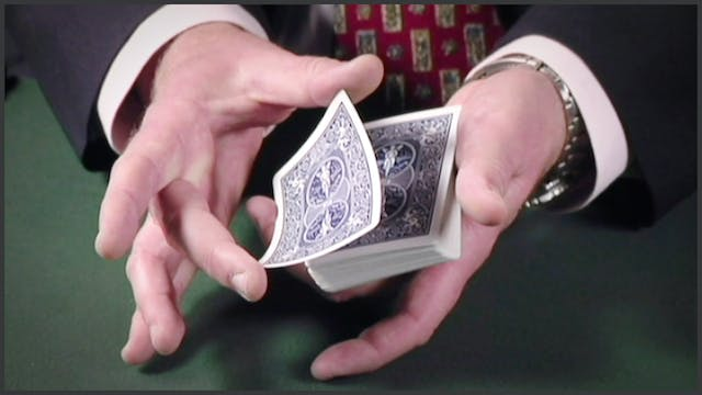 Displaying the Top Card
