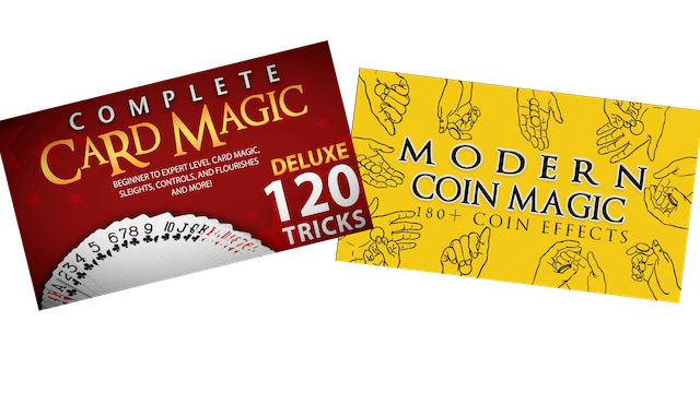 Complete Card Magic and Modern Coin Magic Combo