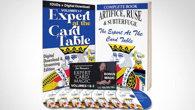 Expert at the Card Table + Expert Card Magic