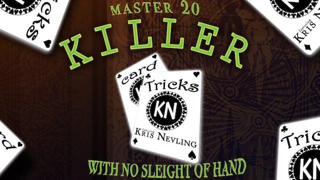 Killer Card Tricks featuring Kris Nevling Full Volume - Download