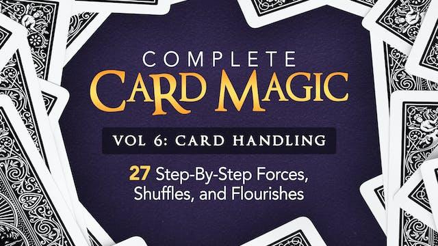 Complete Card Magic Volume 6