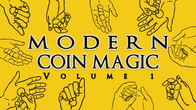 Modern Coin Magic Volume 1 Instant D...