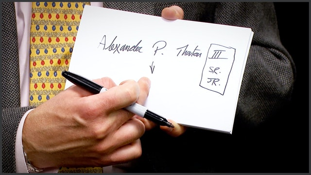 Types of Signatures
