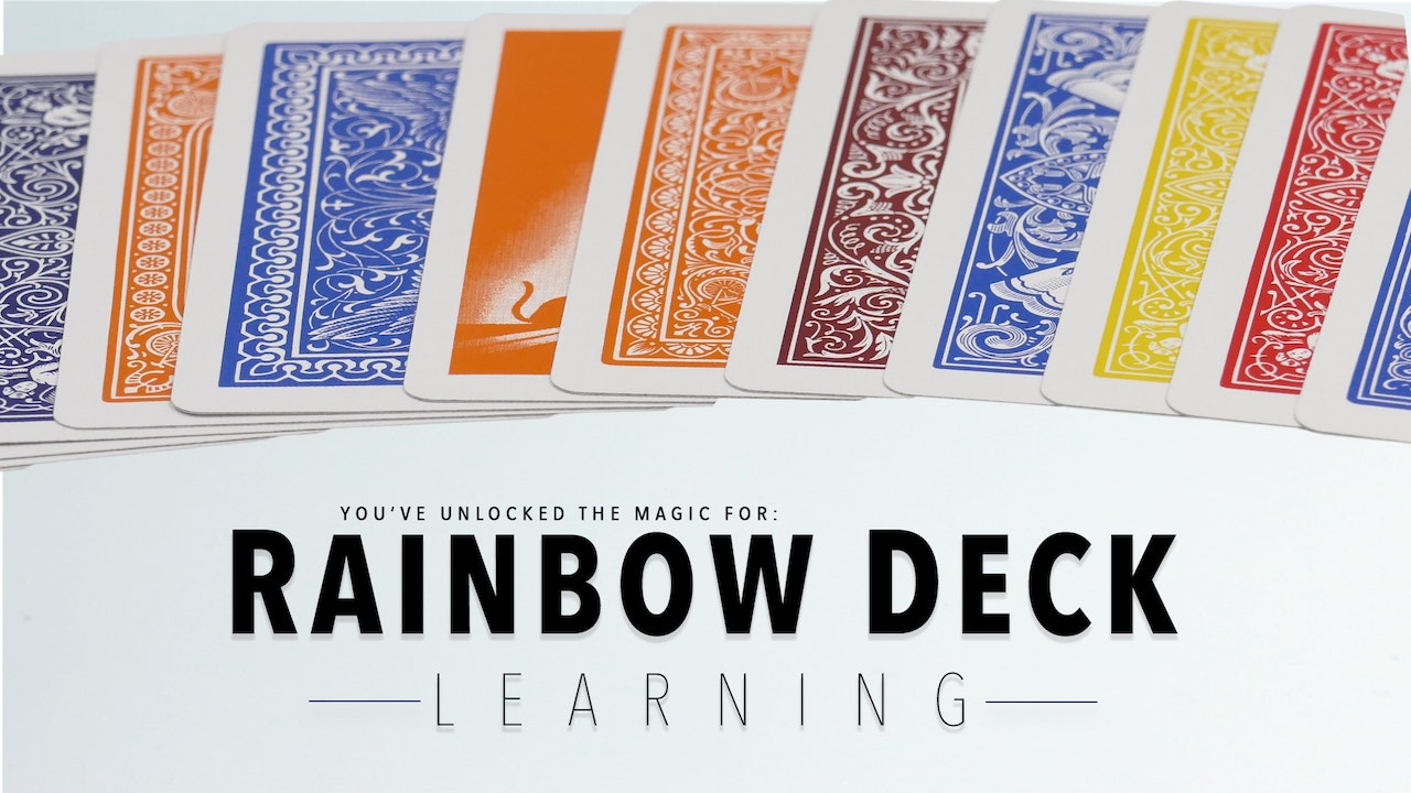 Rainbow Deck - The Complete Course on MasterMagicTricks.com