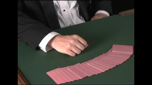 Trick with a Palmed Card