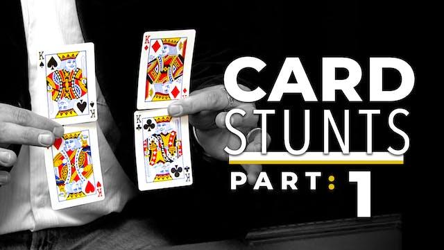 Card Stunts: Part 1 Instant Download