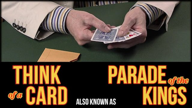 Think of a Card also known as Parade of Kings