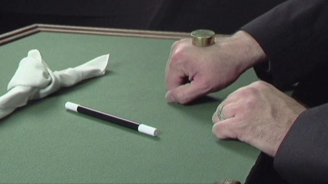 Okito Box, Coin and Handkerchief