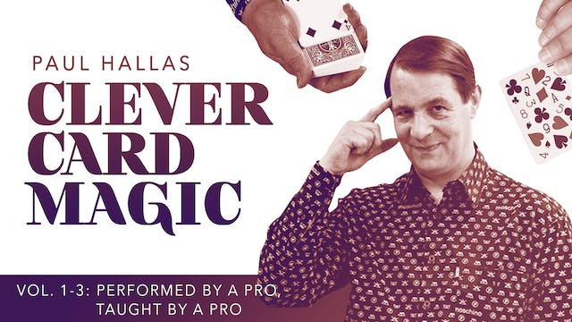 Clever Card Magic with Paul Hallas