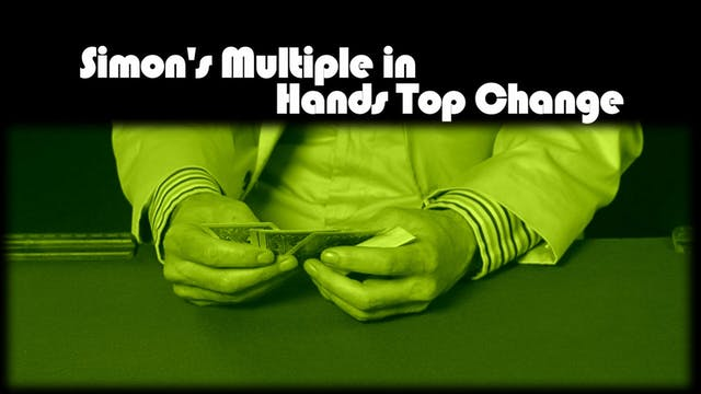 Simon's Multiple in Hands Top Change