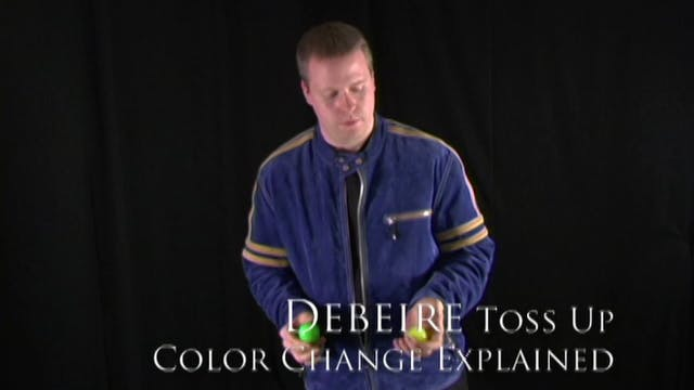 Debeire Toss-Up Color Change