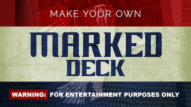 Make Your Own Marked Deck