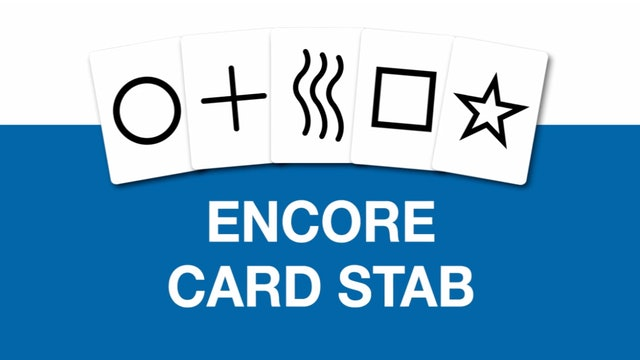 Encore Card Stab