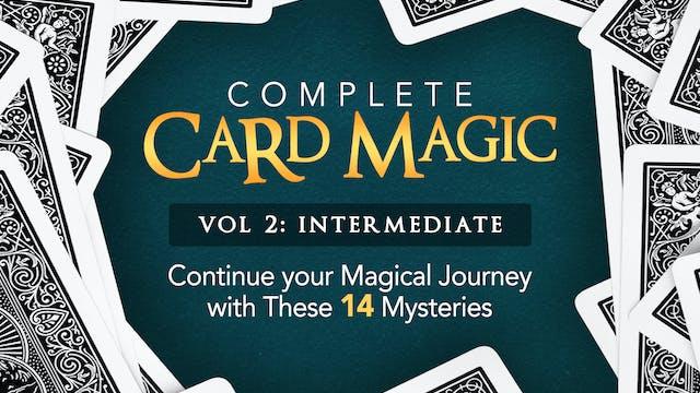 Complete Card Magic Volume 2