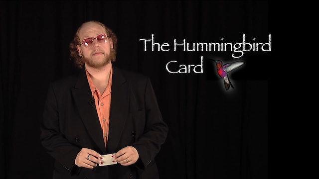 Introduction: Hummingbird Card