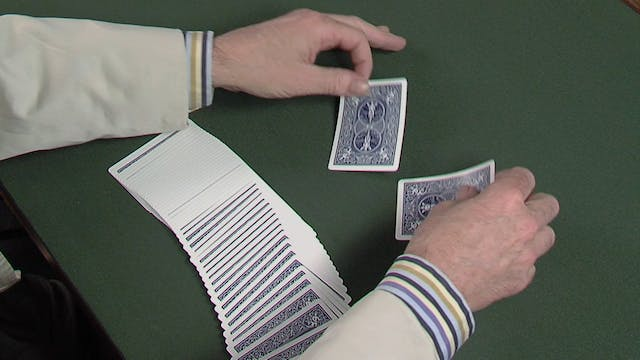Double Backed Cards