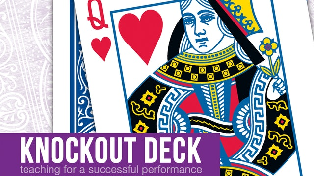 Knockout Deck - Complete Collection on MasterMagicTricks.com