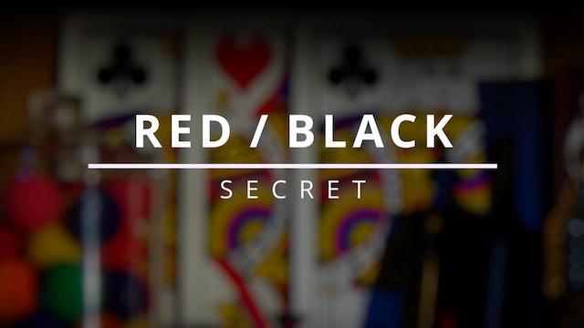 Red / Black - Secret