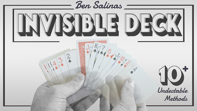 The Invisible Deck with Ben Salinas