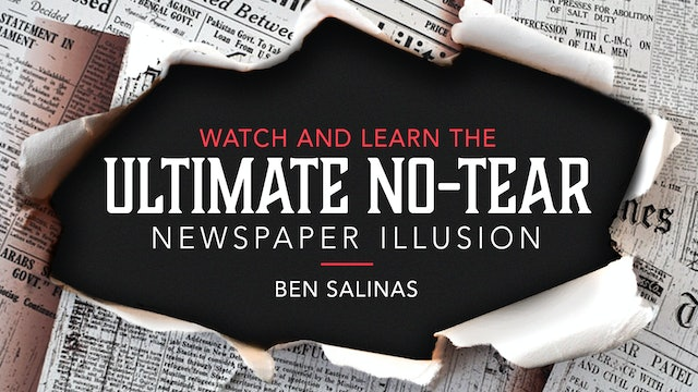 Ultimate No Tear Newspaper