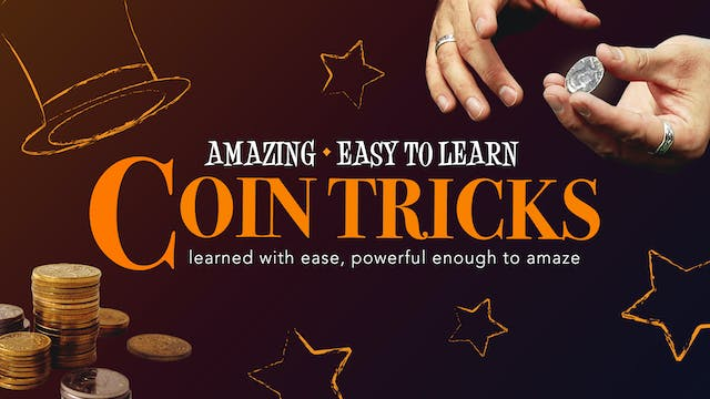 The Amazing Series: Coin Tricks Instant Download