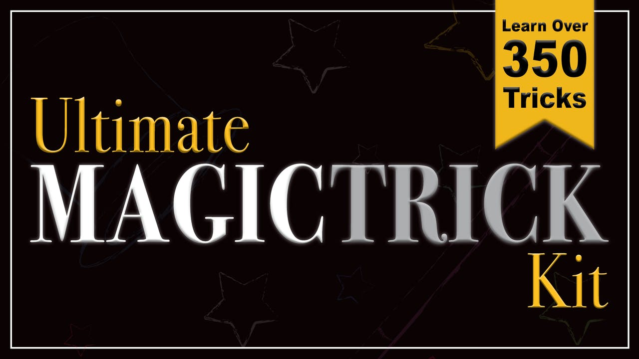The Ultimate Magic Trick Kit