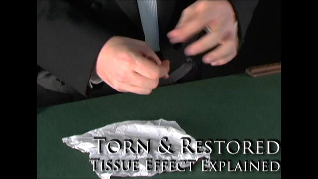 Torn & Restored Tissue Effect